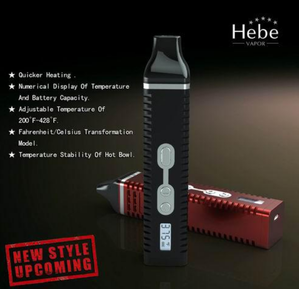 Titan 2 portable vaporizer pen by Hebe